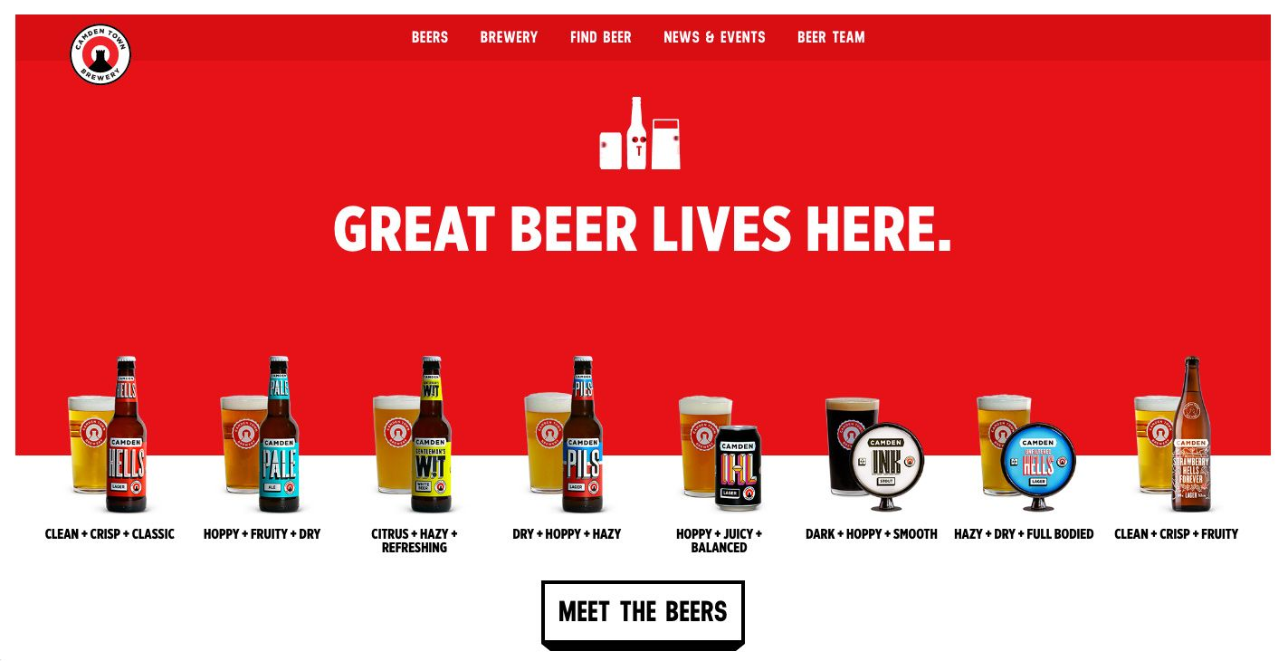 Camden Town Brewery - Site of the Day July 31 2016