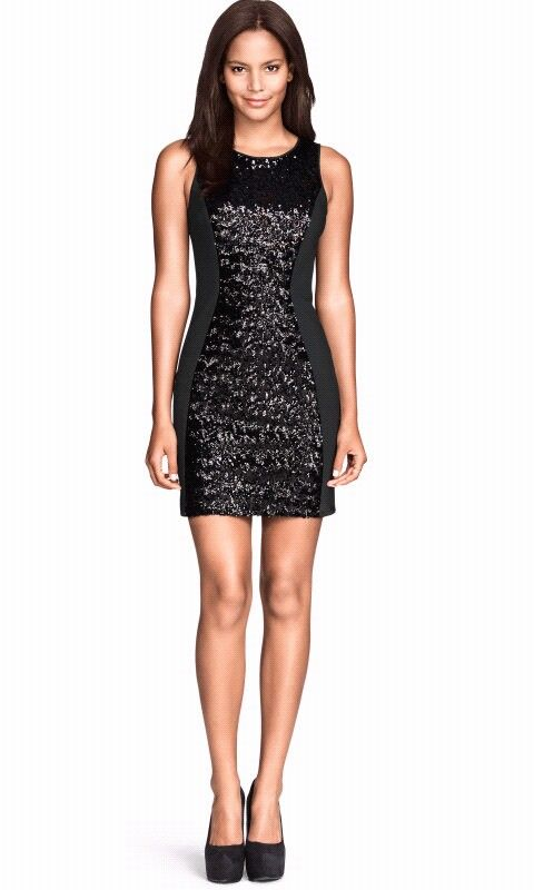 Black new year eve dress