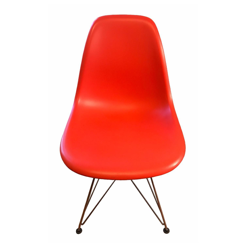 Herman miller eames vitra plastic side chair eames side