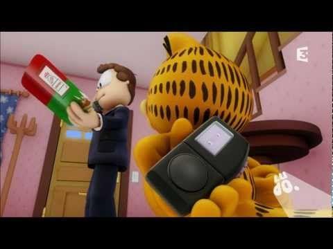 12 min garfield pizza a gogo youtube dessin anim film d animation et youtube - Garfield et cie youtube ...