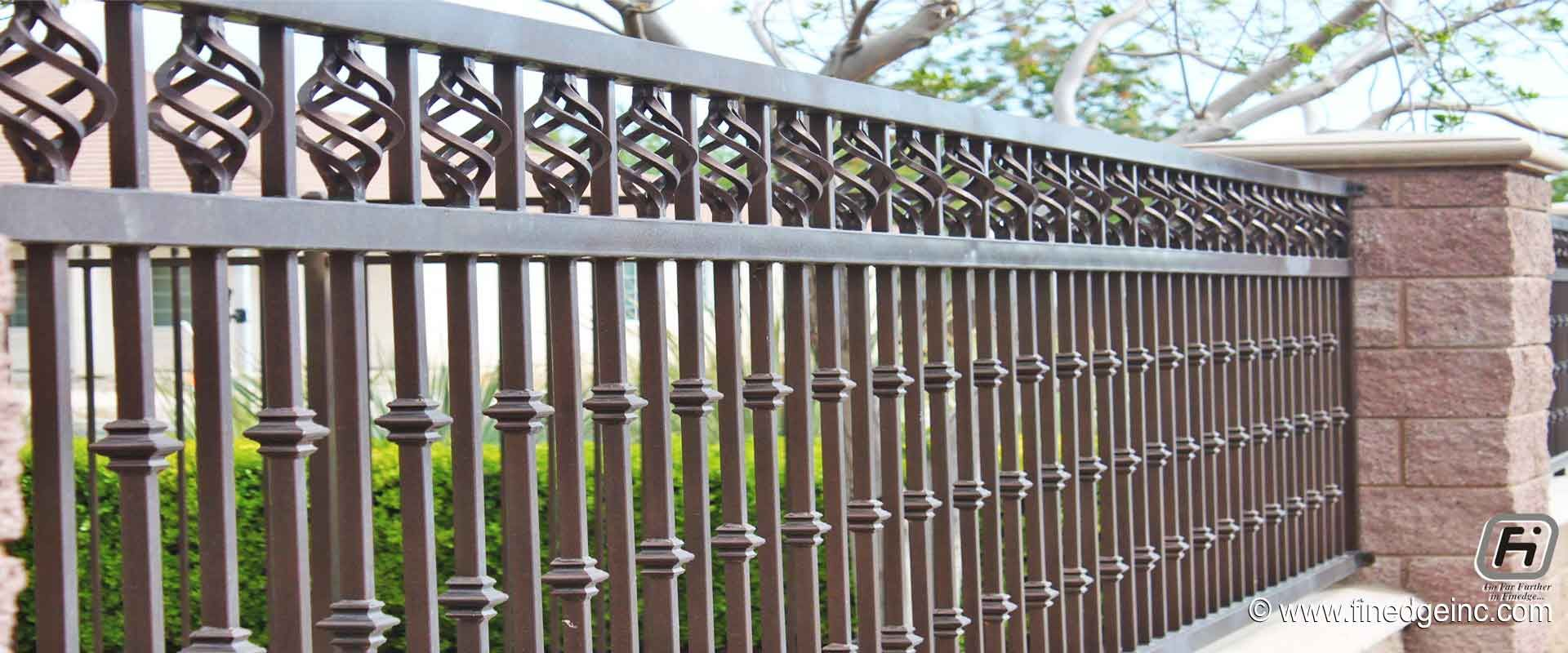 192 Reference Of Decorative Iron Fence Parts In 2020 Iron Fence Wrought Iron Fences Metal Fence