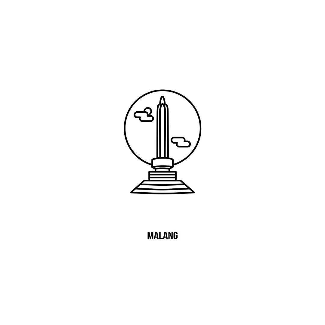 Bskhr On Instagram Tugu Kota Tempat Saya Belajar Malang Icon Iconaday Iconic Iconutopia Vector Malang Ngalam Desain Instagram Fotografi Abstrak