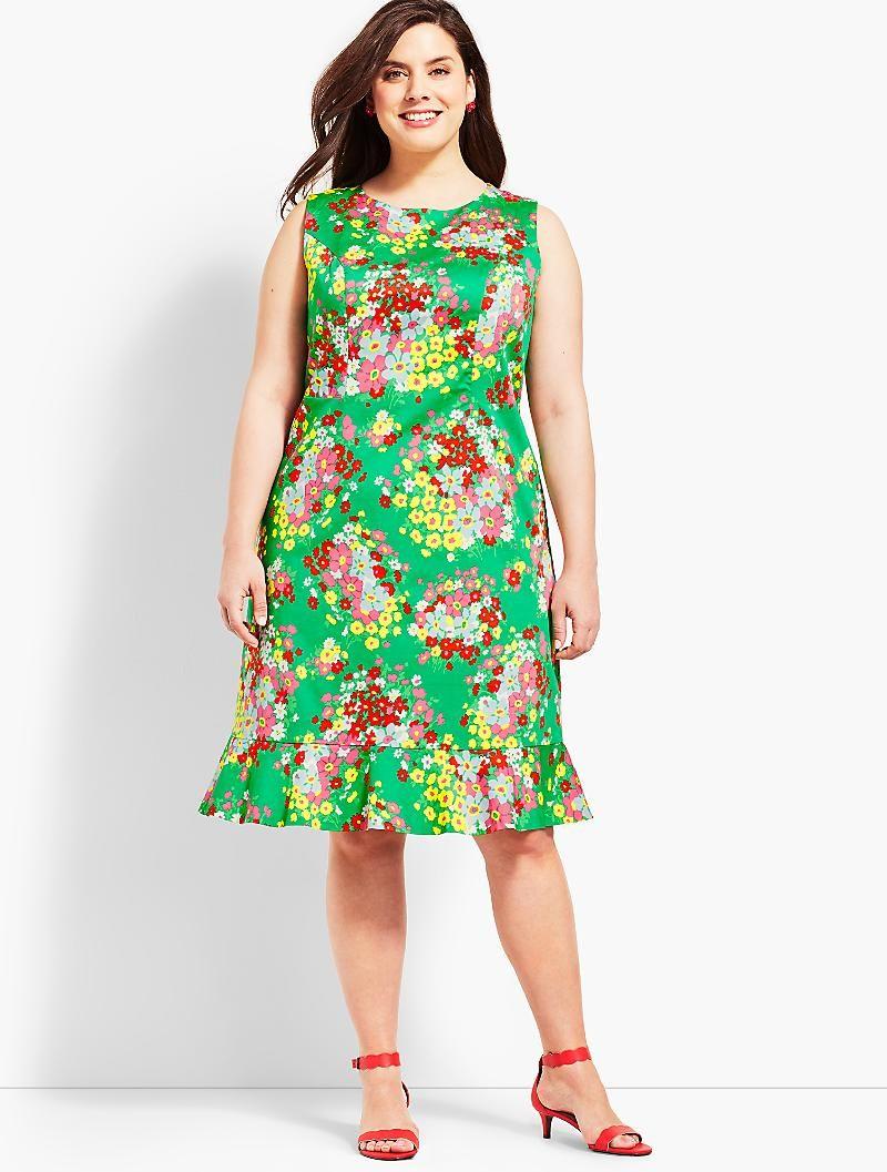 Springtime Floral Shift Dress Talbots Shift Dress Dresses Floral Shift Dress [ 1057 x 800 Pixel ]