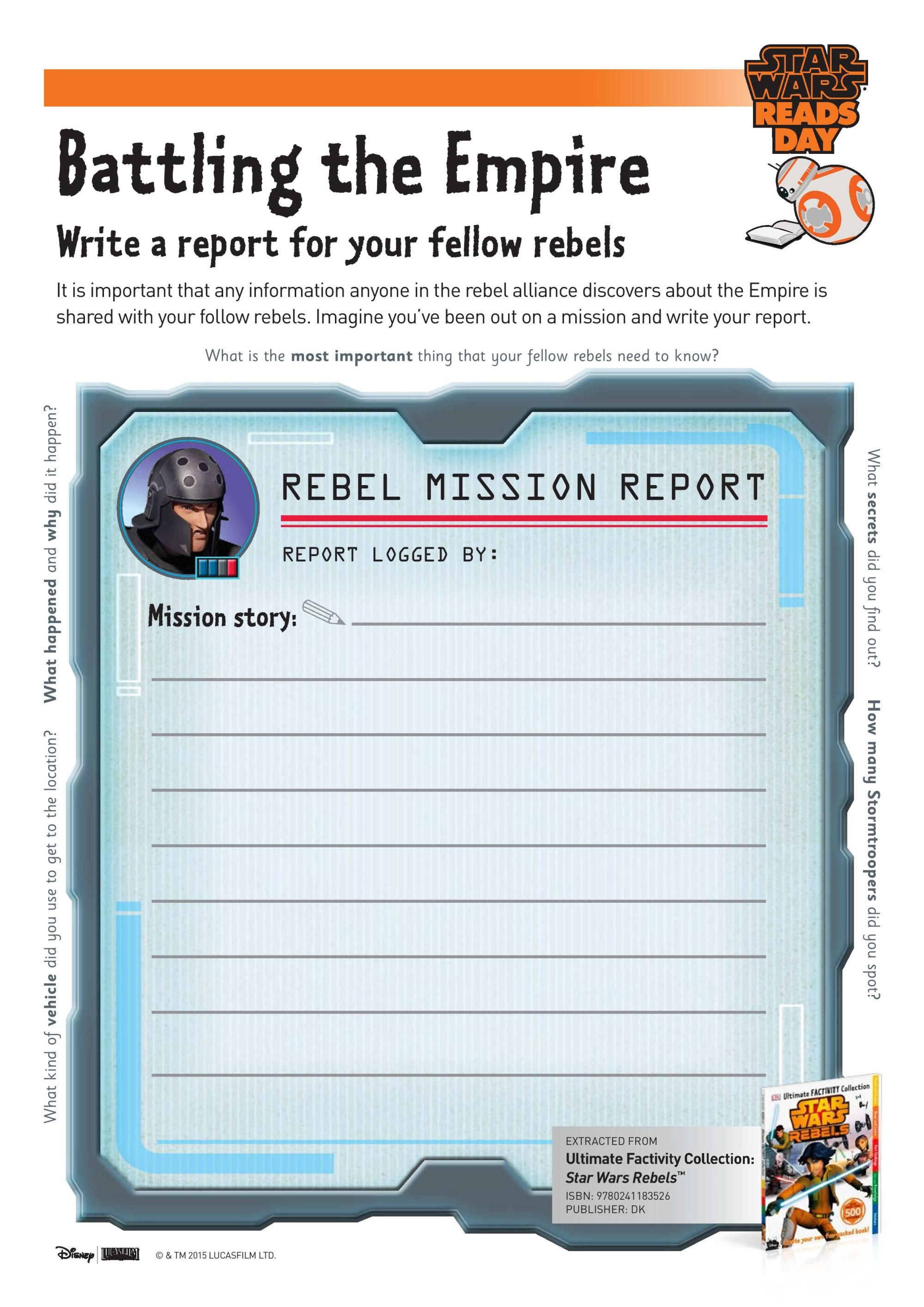 Printable Star Wars Activity Sheets In With Images