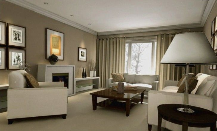 Decorating Room With Creamy Mushroom Walls Ideas In Coolest Wall Decorating Ideas For Living Wall Decor Living Room Living Room Photos Living Room Paint