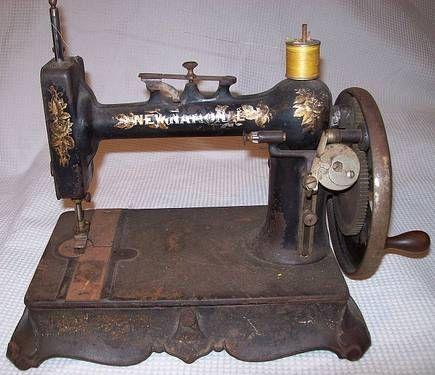 Antique New National Hand Crank Sewing Machine In Apopka Florida Mesmerizing New Hand Crank Sewing Machine