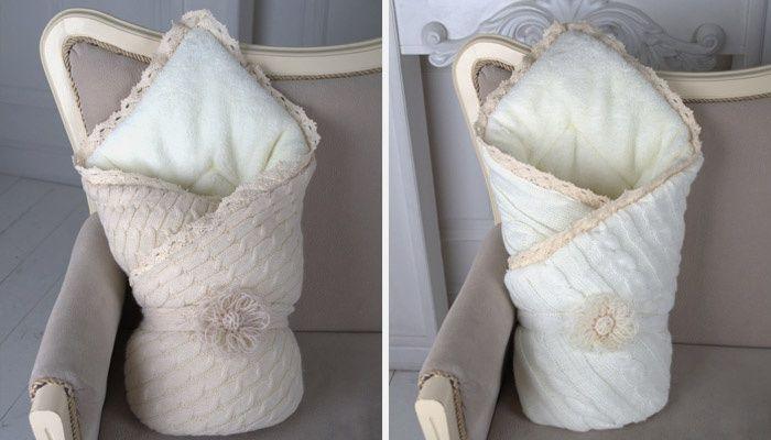 Одеяло на выписку своими руками
