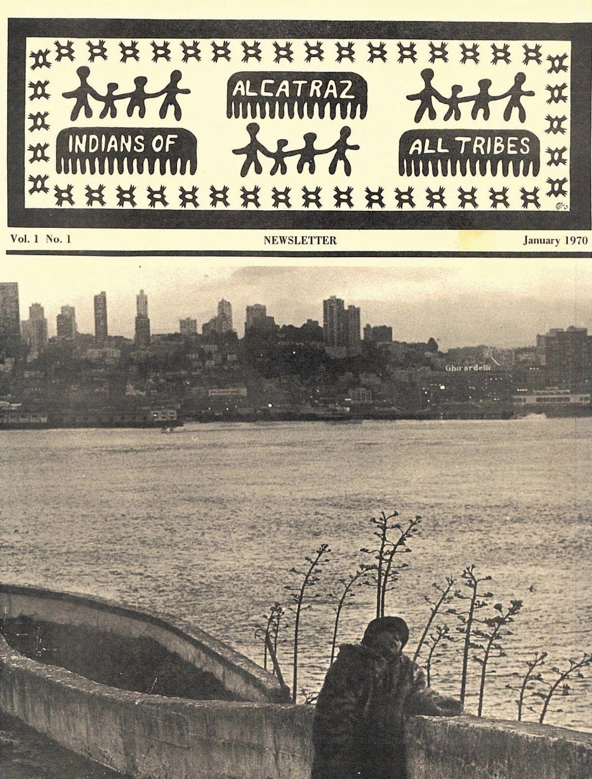 Occupation Newsletter Issue No 1 Alcatraz Family History
