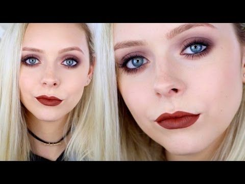90s Grunge Makeup Tutorial Youtube B E A U T Y In 2018 - Grunge-makeup-ideas