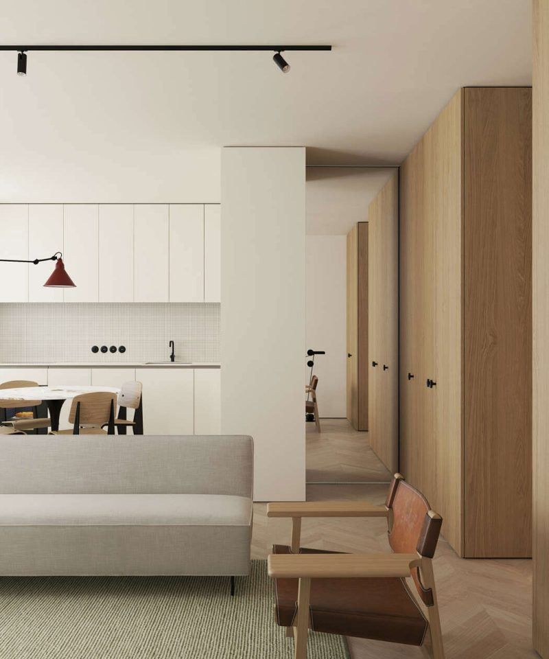 This Modern Scandinavian Style Apartment Is A Lesson In Warm Minimalism Nordic Design Minimalism Interior Apartment Interior Home Interior Design