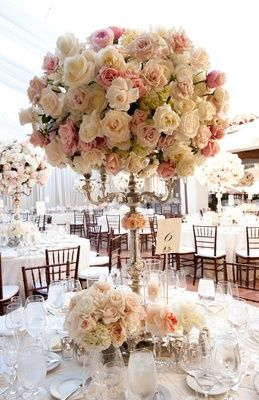 Tall flower arrangements to inspire your wedding centerpieces tall flower arrangements to inspire your wedding centerpieces aloadofball Gallery