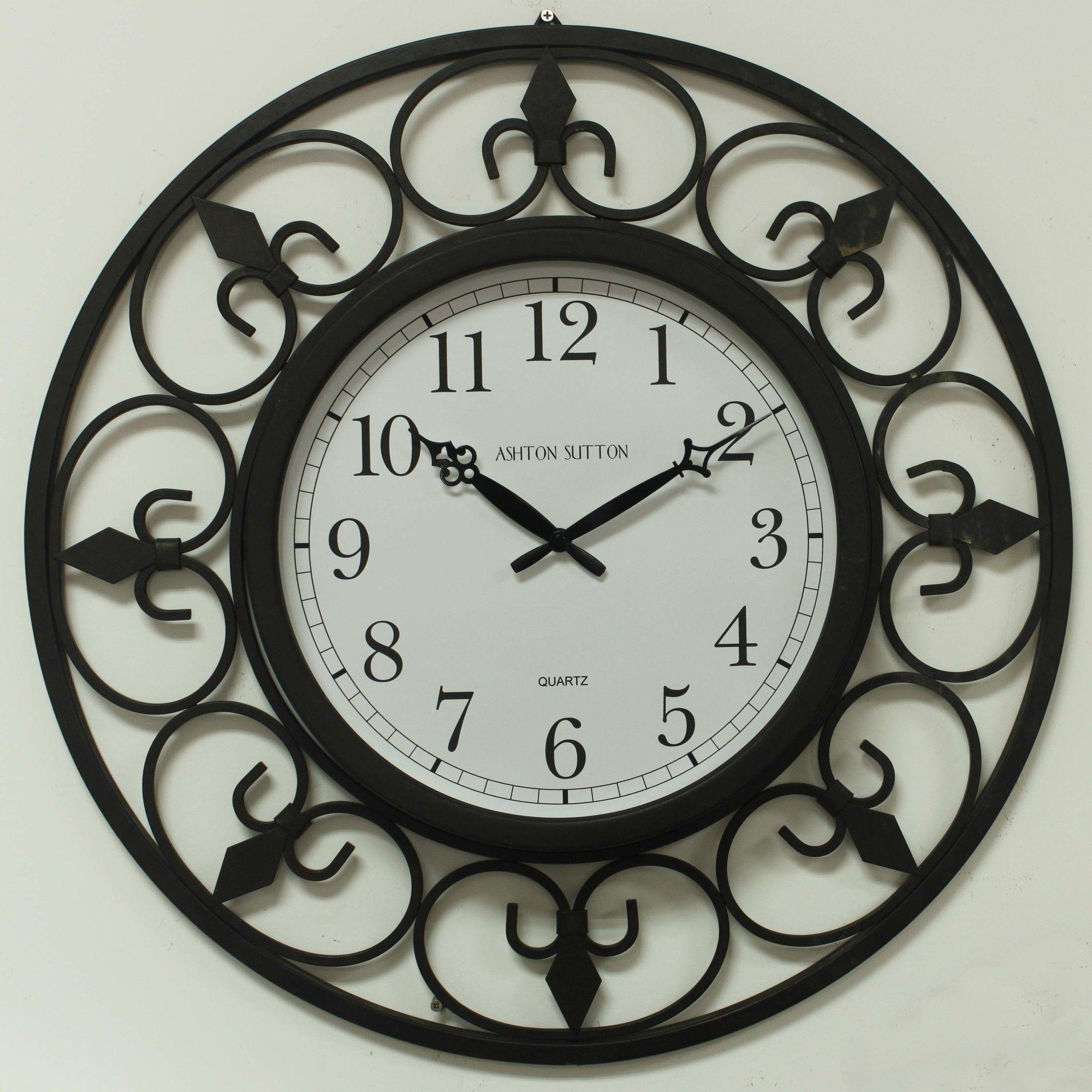 Illuminated Outdoor Wall Clock Google Search Outdoor Clock Wall Clock Light Large Outdoor Clock