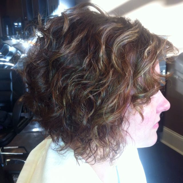 End result of a spiral perm! She is one happy client :)
