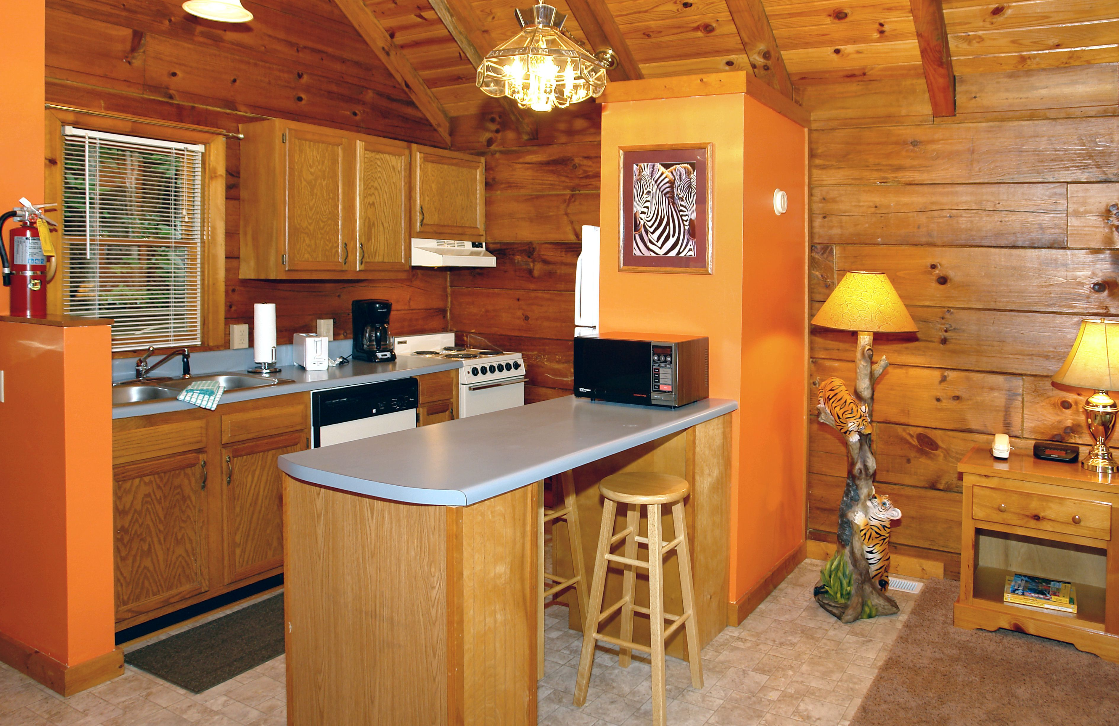 GATLINBURG Cabin Rental WILD THING 1525 1 Bedroom