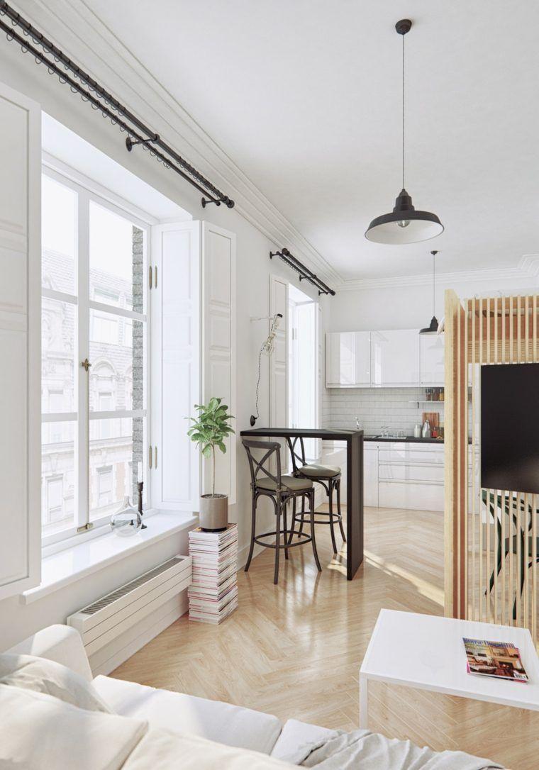 Déco studio et petit appartement : 4 exemples remarquables | Astuce ...