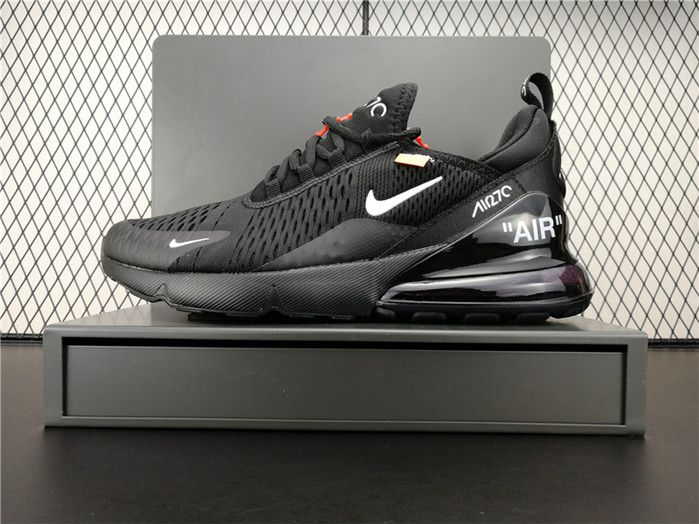 2018 New Arrival OFF WHITE x Nike Air Max 270 Girls Sneakers