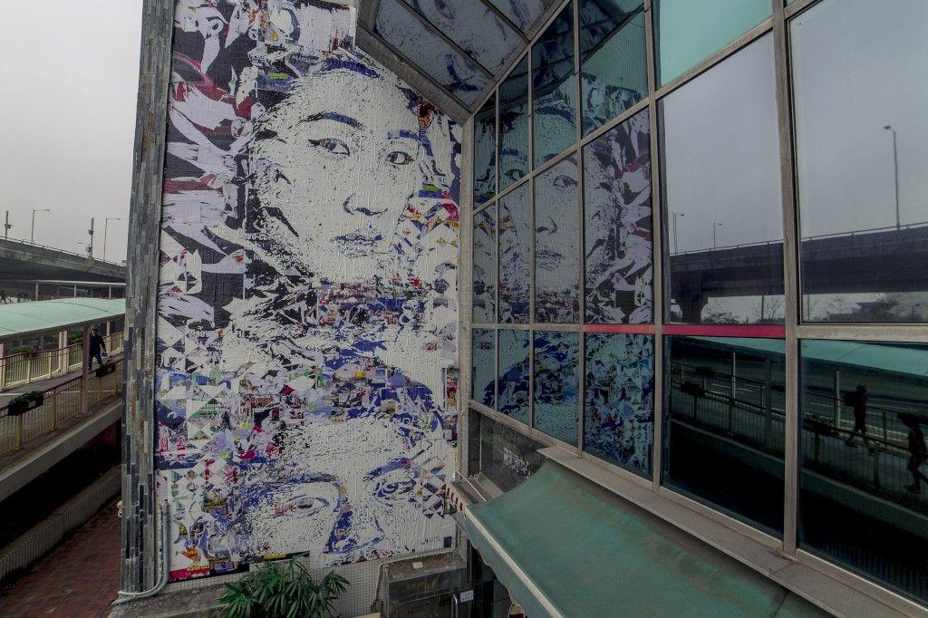 VHILS: do futurismo de Hong Kong à memória industrial do Barreiro - PÚBLICO