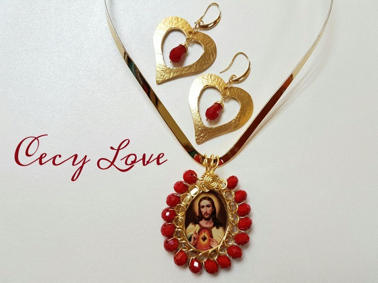 c9693c465cf8 COMO BISELAR UNA MEDALLA! (ALAMBRISMO) Con Cecy Love Bisuteria ...