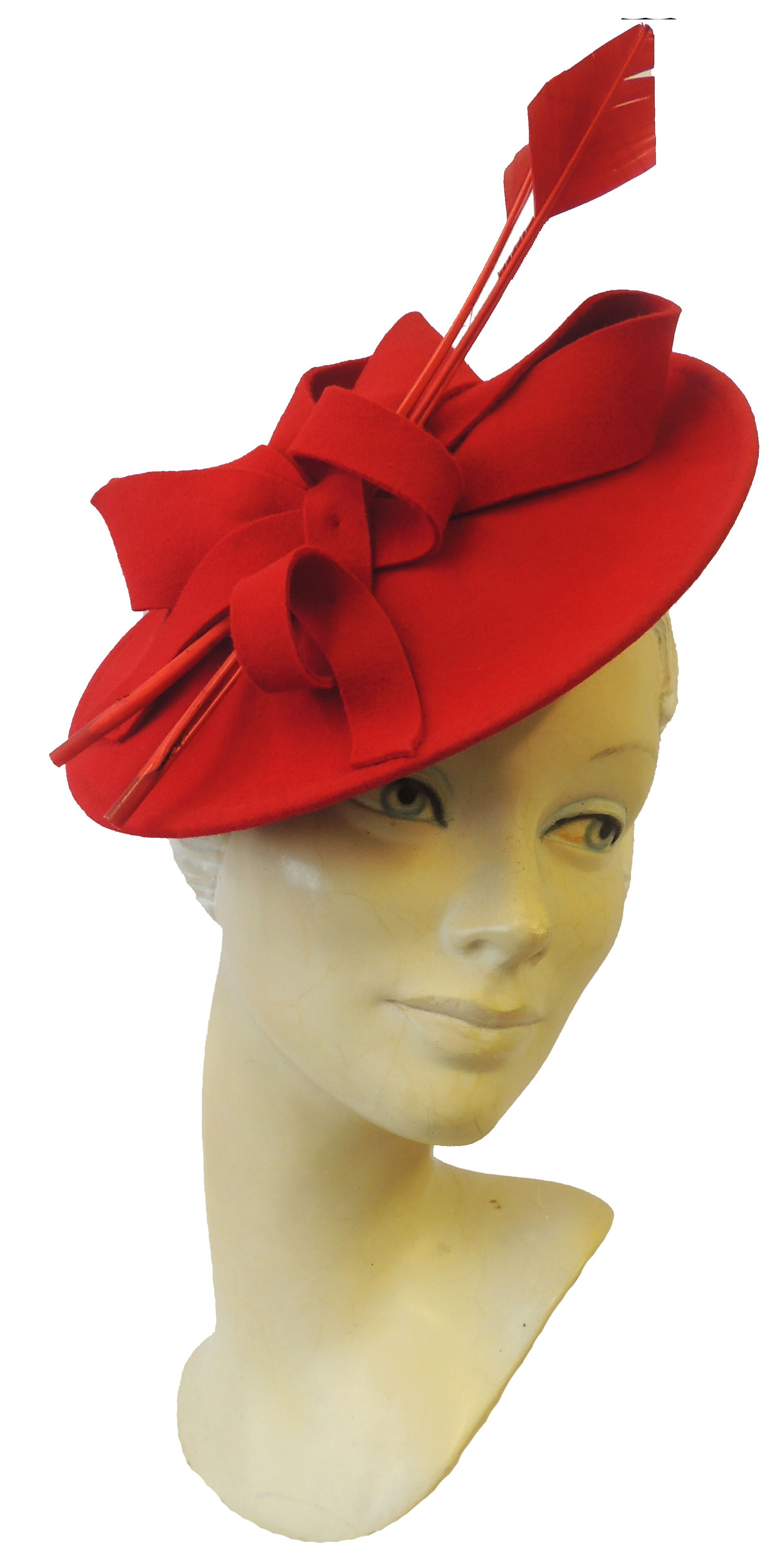 1940s Style Hats New Ladies Retro 1940s 50s Hollywood Glamour Retro Pin-up  Saucer Tilt Hat Hatina  33.88 AT vintagedancer.com 07d1107593f