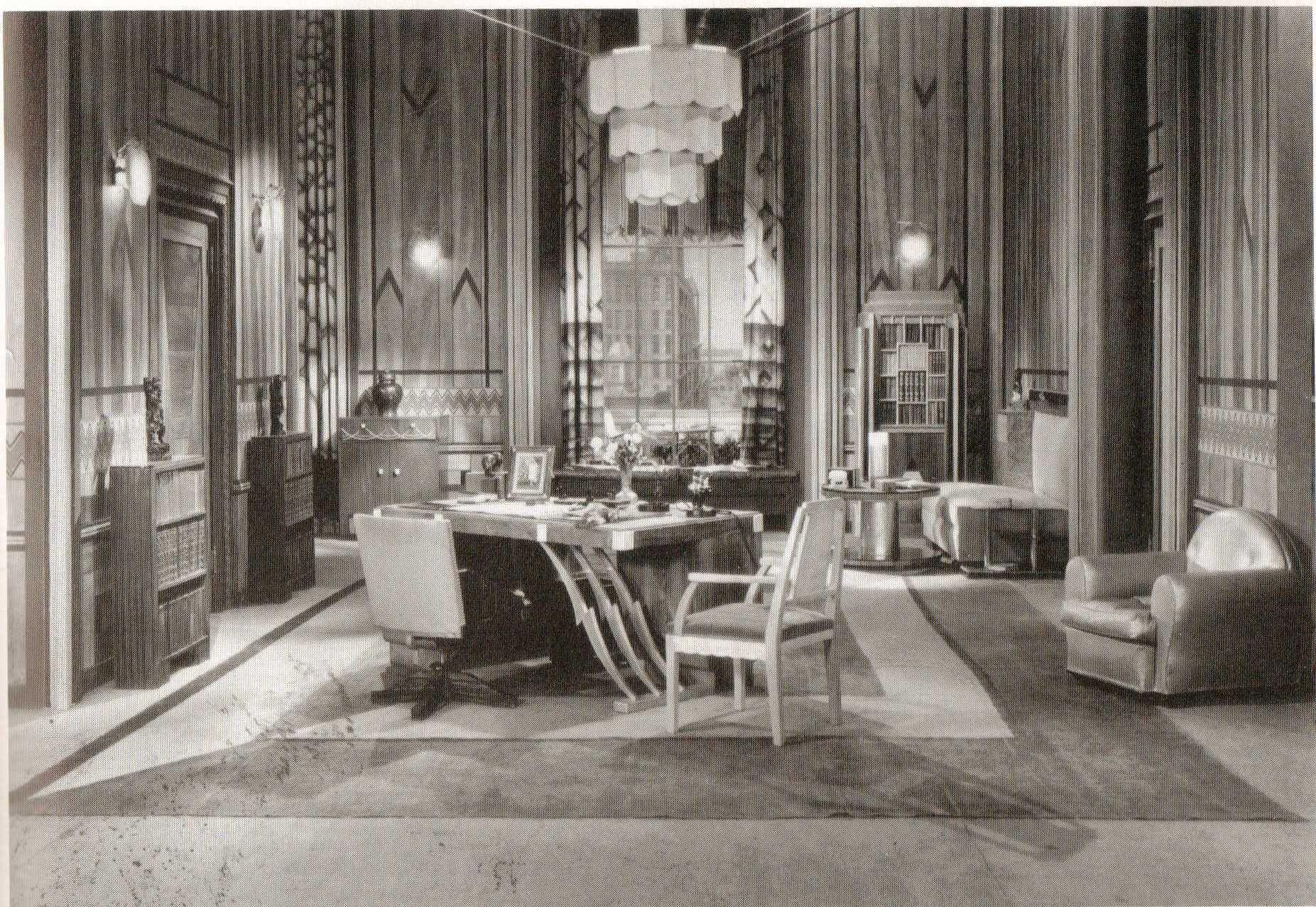 studio set design 1930 deco deco teatro y cine