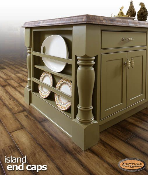 Kitchen Island Cabinet End Cap Product Guide Islands And Caps