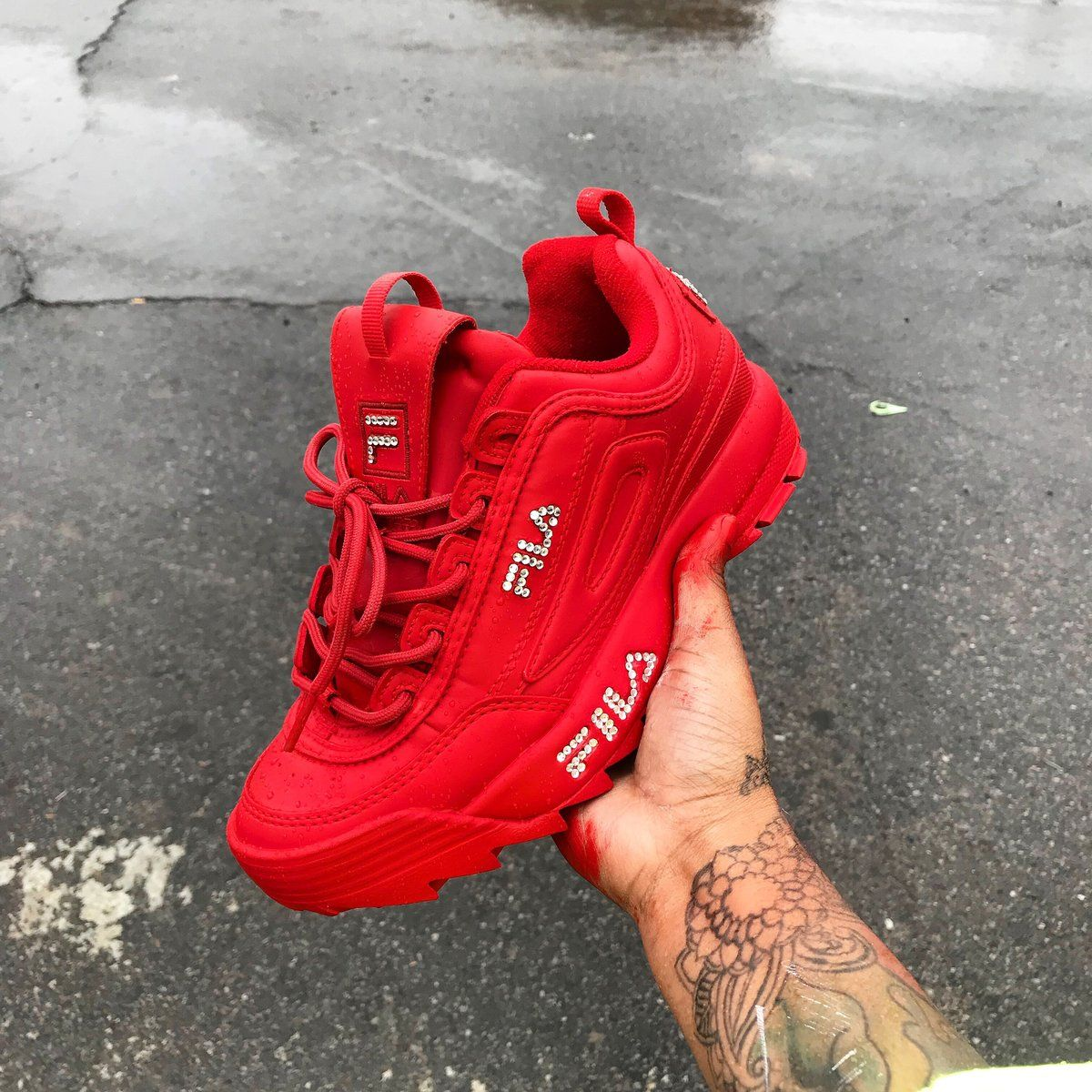 Red Rage Fila Disruptor II Women's – The Sole Catcher LLC