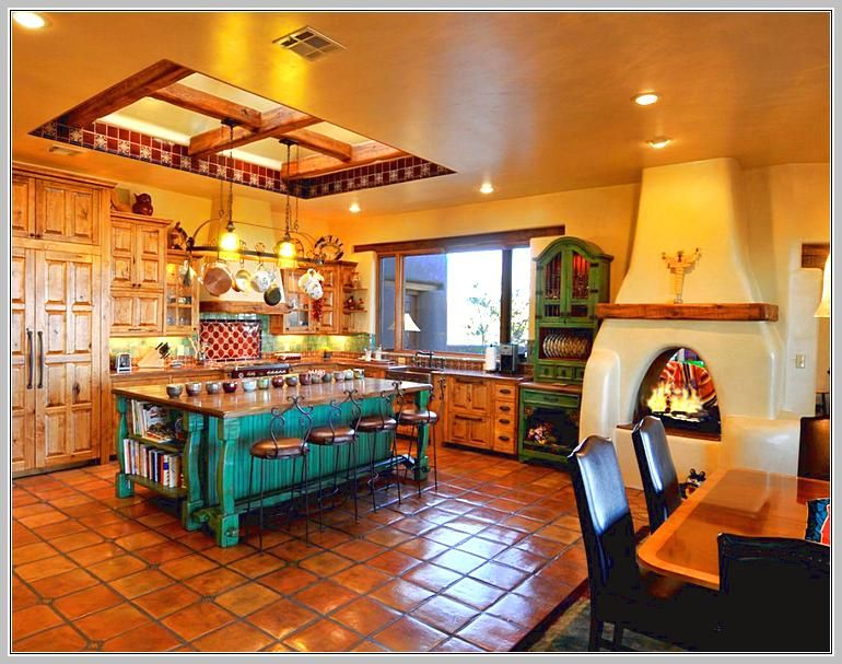 Mexican kitchen decor home design ideas spanish home - Mexican home decor ideas ...