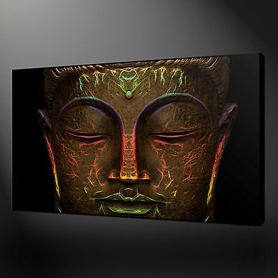 Not framed 12x20 canvas prints cheap pictures wall art home decoration buddha