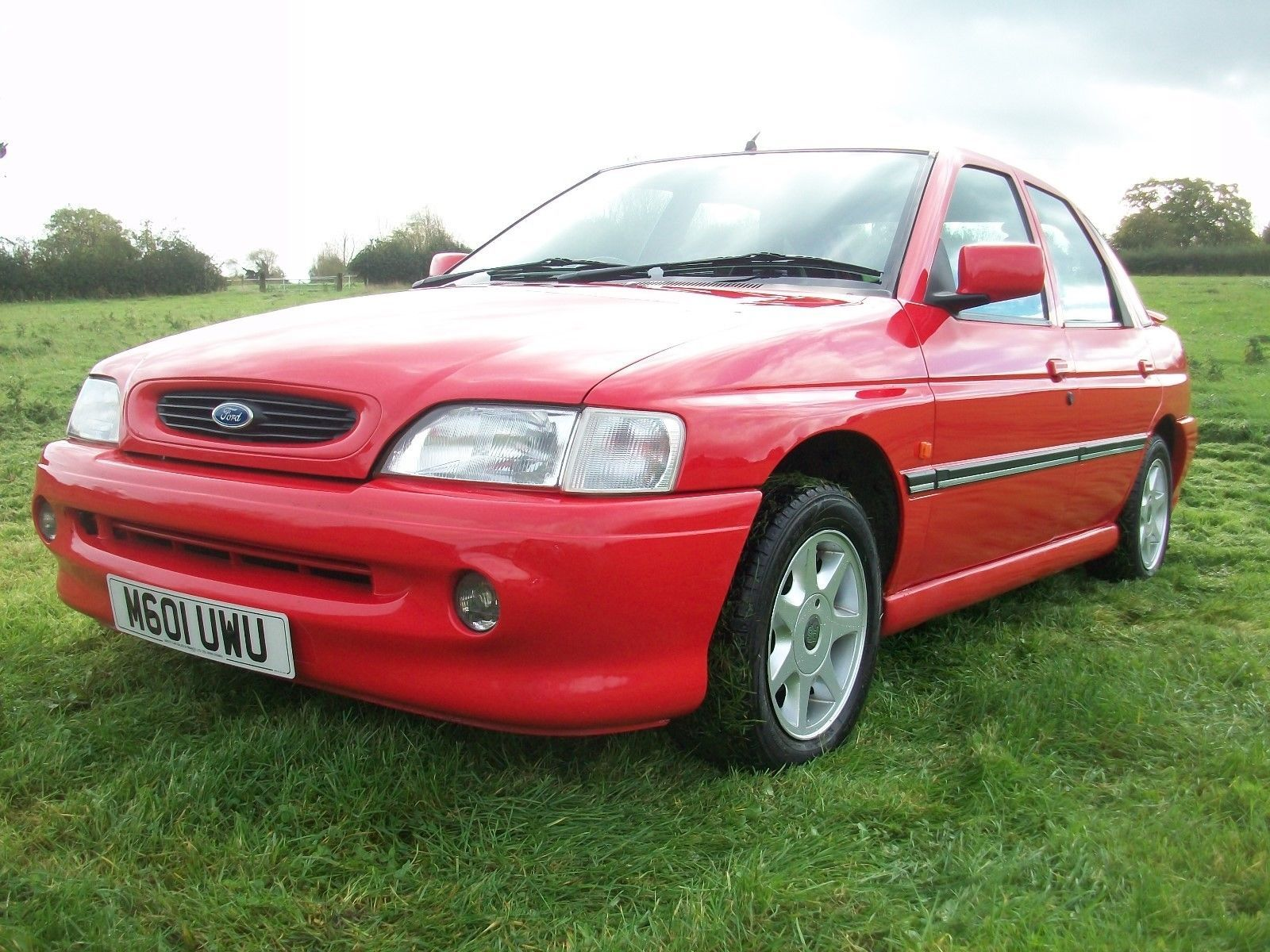 ford escort lx d turbo last owner from 1995 m.o.t october future classic retro