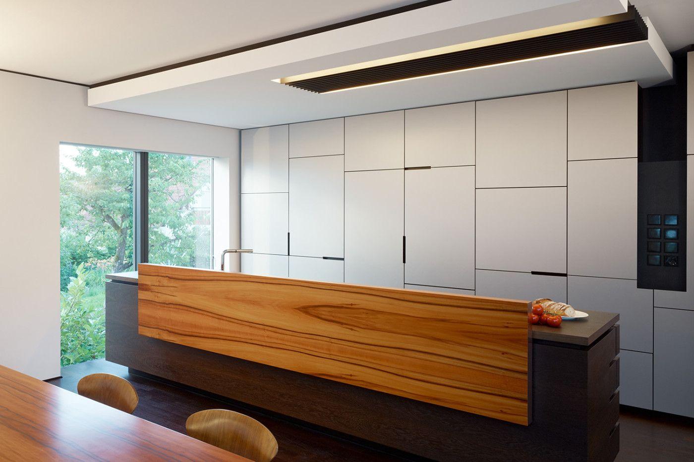 Küche Architektur brenner architekten zwei einfamilienhäuser kueche 1400x933