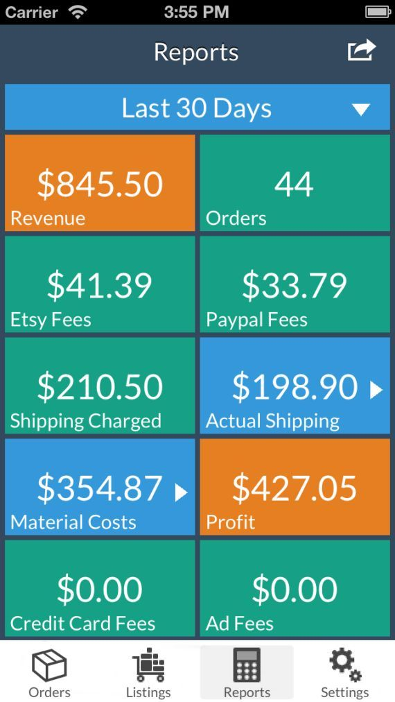 CraftTaskManager iPhone/iPad app for tracking orders by