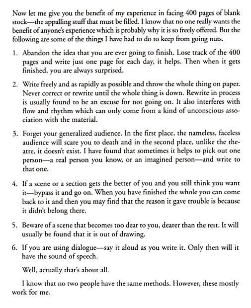 John SteinbeckS Writing Advice From A Letter In   Writing
