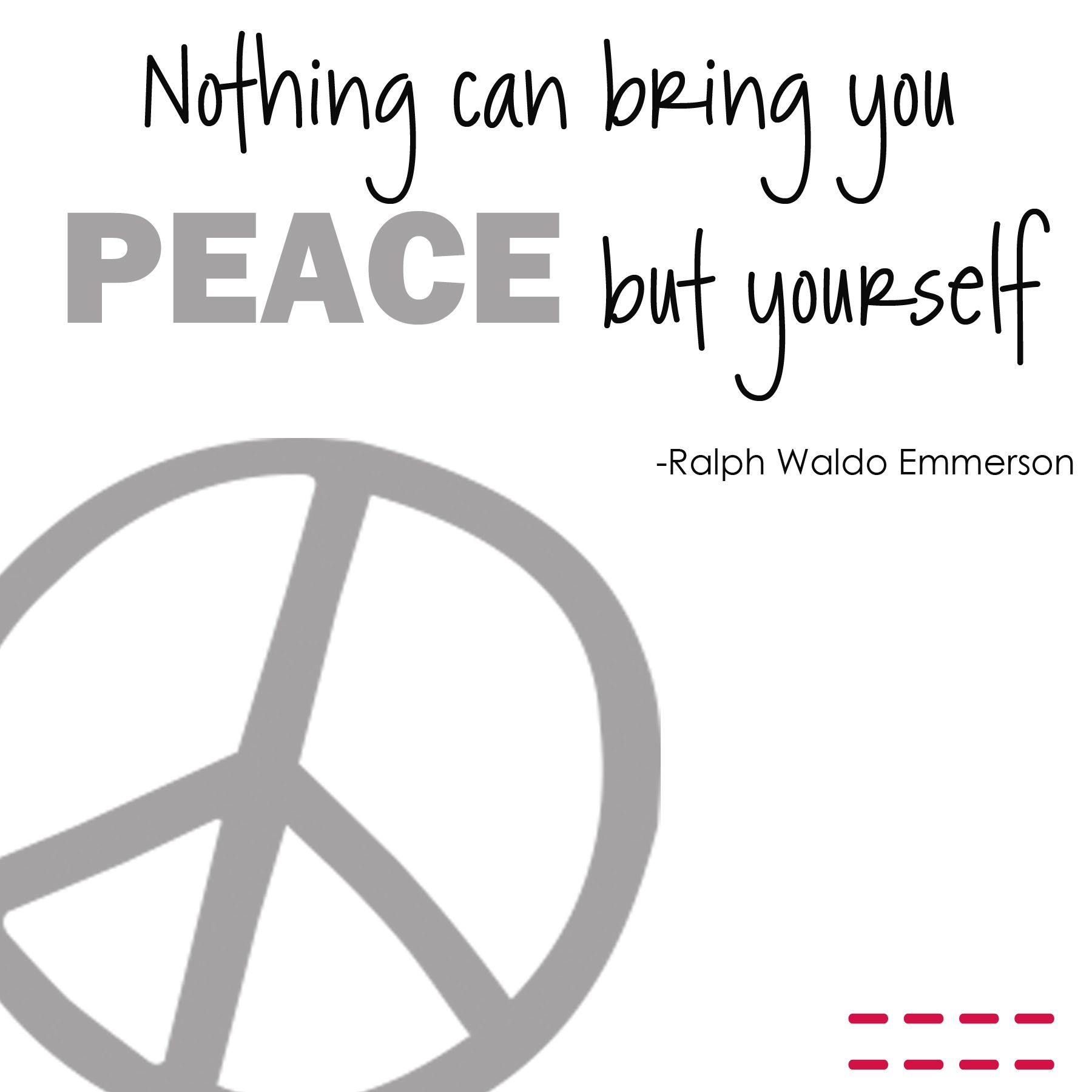 Peace Quote Qotd Peace Quotes Peace Quotes