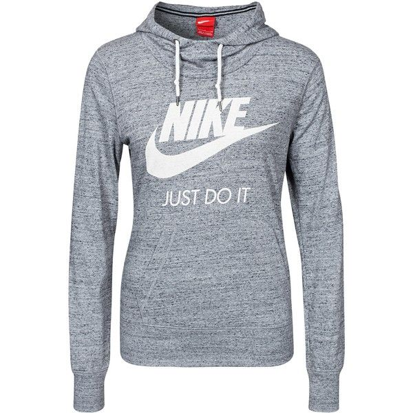 79bd4f9614 Nike Gym Vintage Hoody ($83) ❤ liked on Polyvore featuring tops, hoodies,  carbon, jumpers & cardigans, womens-fashion, nike hoodie, vintage hoodie,  ...