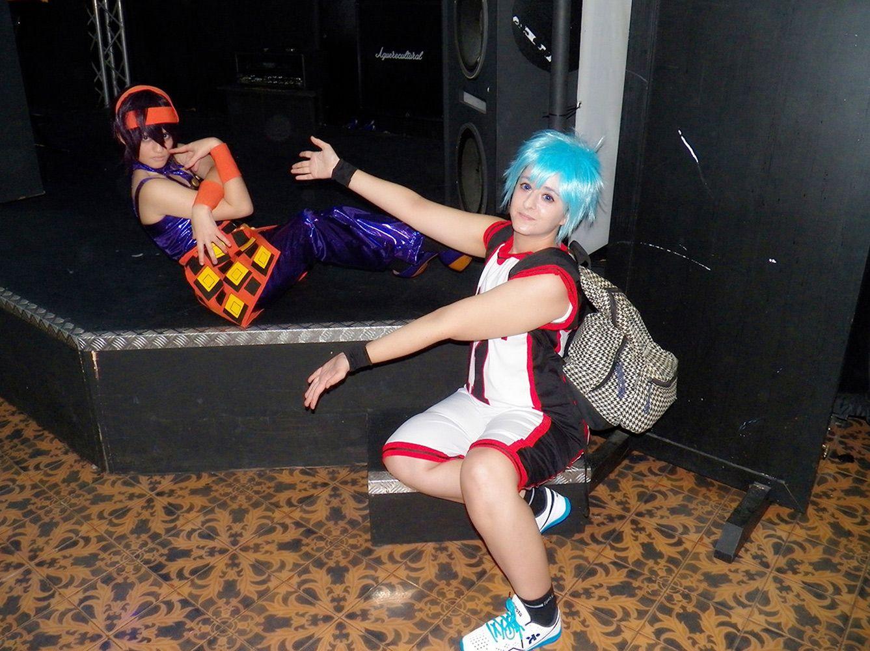 Character: Kuroko Tetsuya  Anime: Kuroko no basket  Cosplayers: Rydia