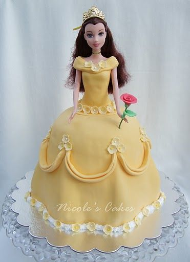 Belle Doll Cake Have Your Cake Amp Eat It Too In 2019