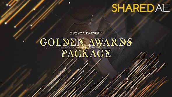Videohive - Golden Awards Package 19027810 - Free Download