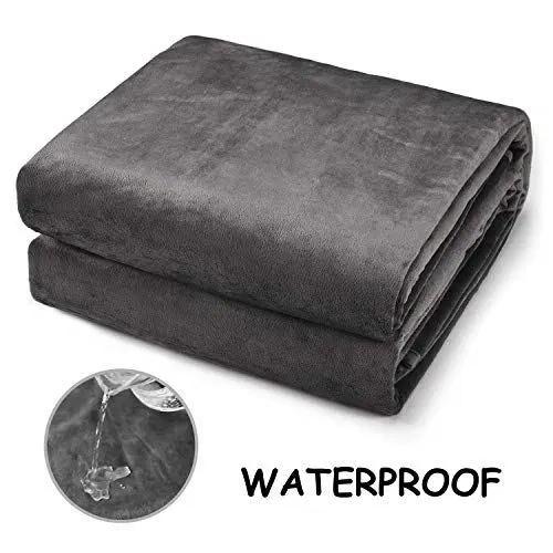 CHEE RAY Premium Waterproof Dog Blanket, Pet Pee Proof