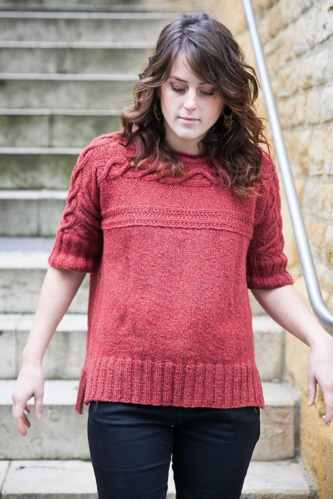 Isola sweater knitting pattern available at LoveKnitting. Find this pattern and share your own projects on the LoveKnitting website!