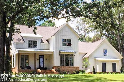 House Plan NCK es to life in Mississippi