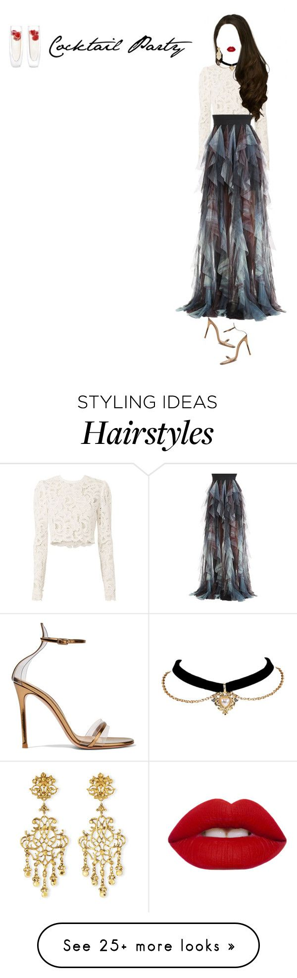 """""""Untitled #148"""" by shoylove-1 on Polyvore featuring A.L.C., Gianvito Rossi, Elie Saab, Lime Crime and Jose & Maria Barrera"""