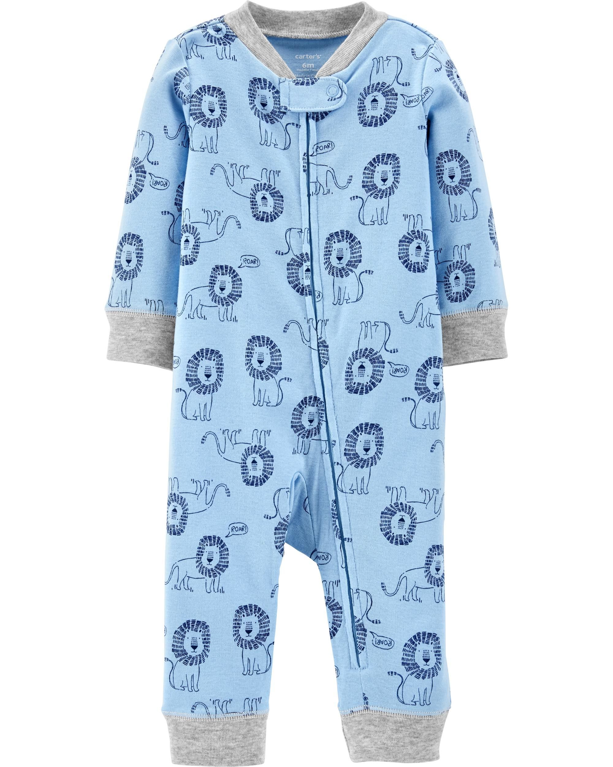 85b1550559 Lion Zip-Up Footless Sleep   Play