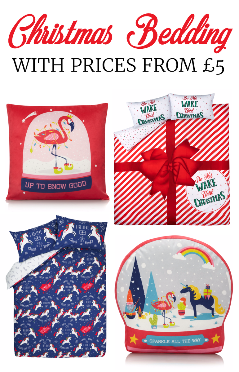 Christmas Bedding, Cushions & Blankets From £5 @ Asda ...