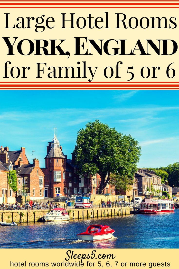 Kid Friendly Hotels And Guest Houses In York England With Large Family Rooms To