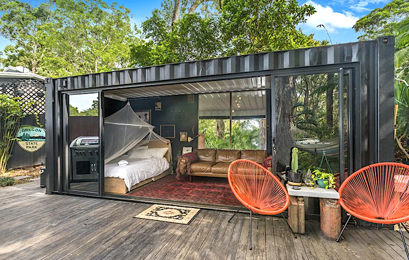 Buy: Dion Agius' Shipping Container House! | BeachGrit