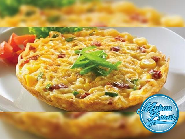 Cara Membuat Omelet Mie Resep Masakan Masakan Resep