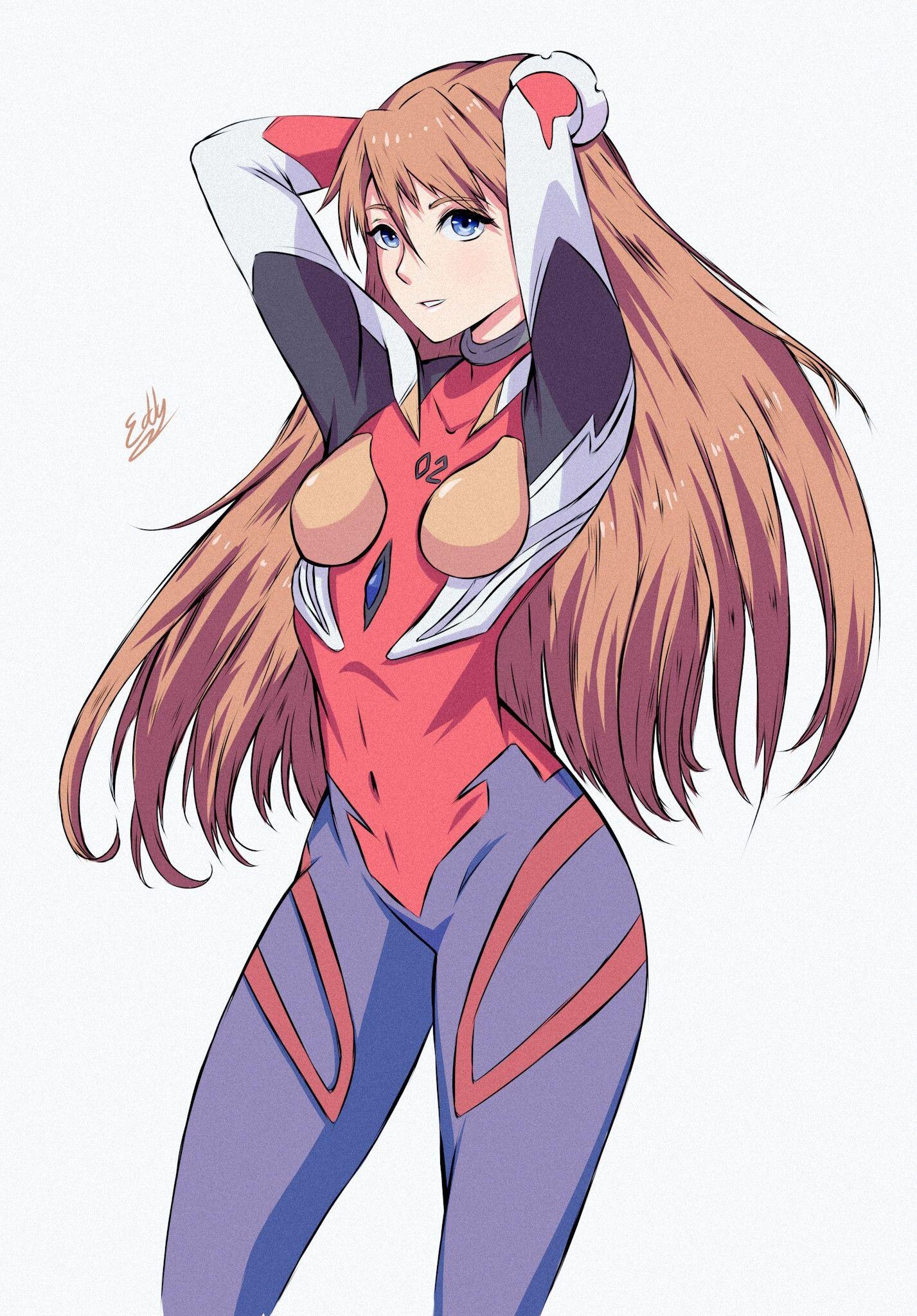 Azuka Langley en 2020 Dibujos de anime, Arte de anime