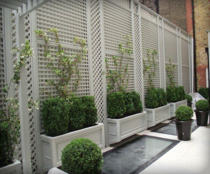 28 interessante Sichtschutz Ideen für Garten