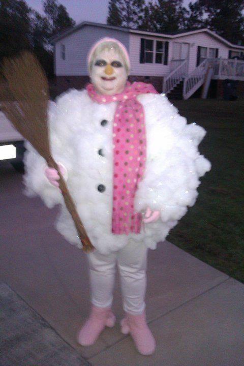 Homemade snowman costume ideas christmas pinterest snowman homemade snowman costume ideas solutioingenieria Choice Image