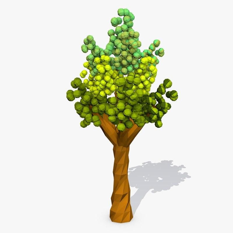 Cartoon Tree Low Poly 3d Model Ad Tree Cartoon Model Poly Cartoon Trees Low Poly 3d Models 3d Model Comes with realistic rendering and daylight. pinterest